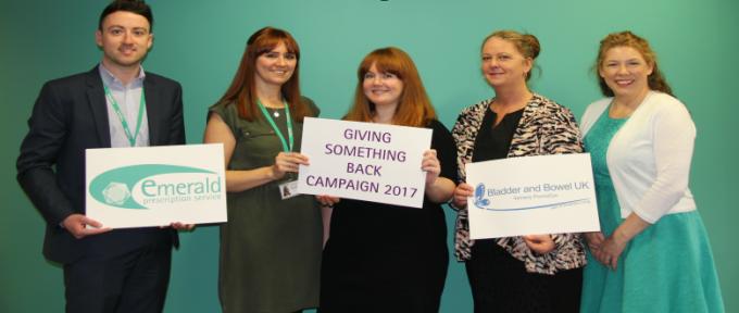 Bladder & Bowel UK   Giving Something Back Campaign