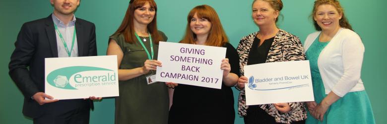 Bladder & Bowel UK | Giving Something Back Campaign