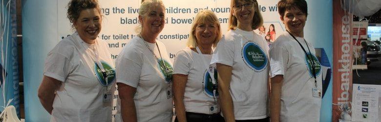 bladder and bowel uk team photo